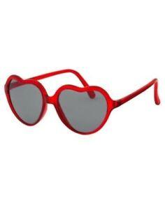 GYMBOREE COZY VALENTINE RED HEART SHAPE SUNGLASSES 2 4 NWT