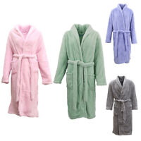 New Men's Women's Supersoft Luxurious Coral Fleece Bath Robe Dressing Gown Warm