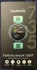 Garmin Forerunner 735XT Sport Watch with Tri-Bundle - Midnight Blue/Frost Blue