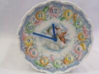 Royal Doulton THE SNOWMAN Collector's Christmas Wall Clock Plate England 1985