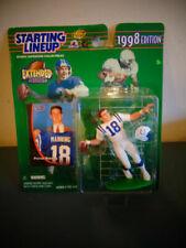 1998 Kenner Starting Lineup Peyton Manning Rookie Indianapolis Colts