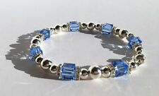 $189 Multi-Faceted Emerald Cut Crystal Dog Collar with Bezel Set Crystal Bands
