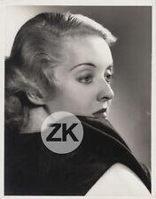 BETTE DAVIS Glamour WARNER BROS Stardom Hollywood Elmer FRYER Photo 1935
