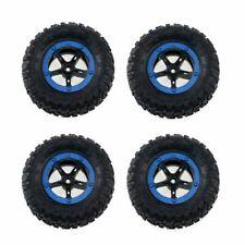 New 1/18 tires (4) wheels+tire for Losi 1:18 Slider 7x3.3cm rc Model diameter7cm