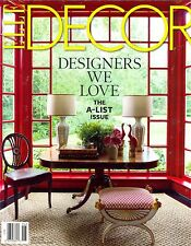 ELLE DECOR Magazine June 2016 DESIGNERS WE LOVE The A-List Issue