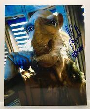 Star Wars Saelt-Marae Hand Signed Yak Face Photograph RARE!