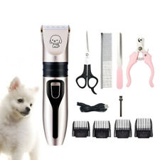 11 In 1 Usb Pet Dog Grooming Clipper Thick Fur Hair Trimmer Electric Shaver Set