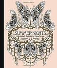 Summer Nights Coloring Book (2016, Hardcover)