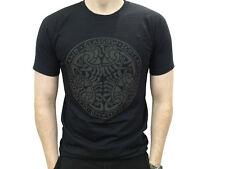 Hombre Escocés Celta Nudo Diseño Glasgow Escocia Camiseta Talla Opciones