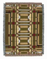 Frank Lloyd Wright Oak Park Skylight Tapestry Throw Blanket