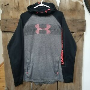 Under Armour Hoodie sweatshirt Pullover size large Coldgear fitted