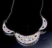 Vintage Aurora Aurelius Rhinestone necklace