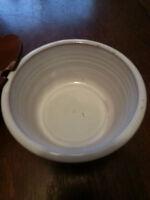 Vintage North Carolina Pottery Hand Thrown - Jan Lee  Sugar Bowl With Lid