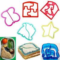 Cute Rabbit+Panda+Flower Bento Sandwich Mold Cutter Cookie Bread Mould For Kids