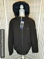 *New* Tommy Hilfiger Sz Large Mens Soft-Shell Bomber...