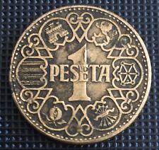 PIECE 1 PESETA  1944