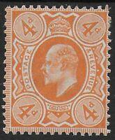 SG240.  4d.Pale Orange.  Fresh MM-Though A Little Heavily.  Cat.£20.  Ref.0993