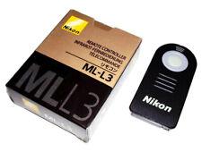 Infrarrojo inalámbrico IR ML-L3 DISPARADOR REMOTO NIKON D5300 D7000 D90 Reino Unido Stock