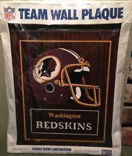 "NFL Team Wall Plaque""WASHINGTON REDSKINS"""