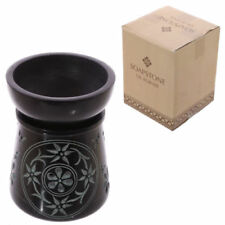 Artículos de baño color principal negro de piedra