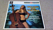 DAVID ROSE ORCHESTRA HOLIDAY FOR STRINGS 1st Studio 2 UK LP 1967 David Axelrod
