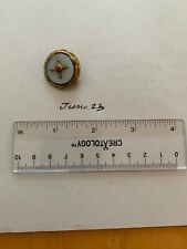 Victorian Gold Filled Pin With Coral
