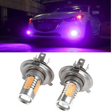2Pcs 33-SMD H4 7.5W 5730 Car Xenon LED Fog Driving DRL Bulb Light Lamps Purple