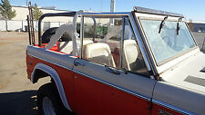 1966-77 Ford Early Bronco Rear Roll Cage Kit   Incorporates Factory Bar