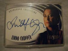 FARSCAPE trading card - signed by Linda Cropper - Rittenhouse archives