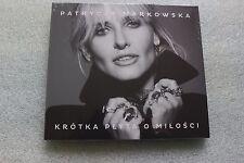 Markowska Patrycja - Krótka płyta o miłości (CD) Polish Release