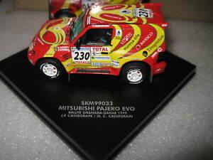 1/43 VITESSE / SKID MITSUBISHI PAJERO EVO RALLY GRANADA DAKAR 1999 230 #SKM99033
