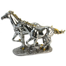 Pferd Horse Figur silberfarben 50 cm,Juliana Kollektion Great Britain,Dekofigur