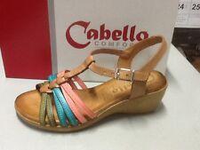 ladies sandal Cabello 584 natural multi size 42/11