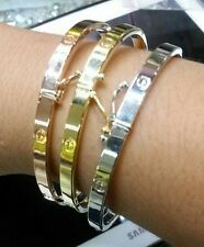 Gold Authentic BANGLE bracelet,,18k saudi gold..!! ( 1pc only )