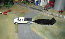 1/64 Ertl Dodge Pickup w/ Trailer