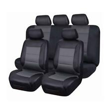 Leather LOOK Seat Covers for Toyota HILUX Dual CAB Sr5 SR 2rows 04/2005 -06/2016