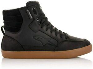 Alpinestars Shoes J-6 Waterproof Street Casual Urban Riding Leather Sneakers