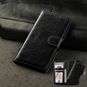 Phone Case for Samsung Galaxy Models - 2 in 1 Flip Leather Detachable Wallet