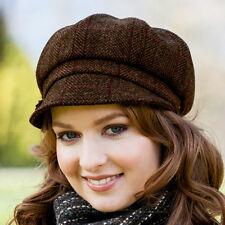 Baker Boy Wool Cap-Ladies Irish Wool Hat Made in Ireland, Mucros Weavers 335-1NB