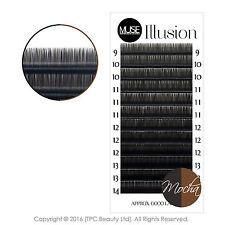 MUSE Illusion Mocha 0.07 Brown Individual Eyelash Extensions Colour Blend