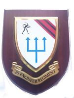 28th Royal Engineers Regiment Military Wall Plaque UK Made for MOD