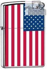 Zippo 7959 american flag US Lighter with PIPE INSERT PL