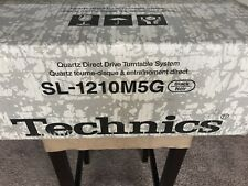 Technics SL-1210 M5G Pro Turntable / Black / New in Box / SEALED/ New Old Stock