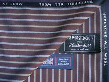 100% pure laine peignée Blazer Tissu-Made in England -2.0 M