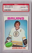 1975 Topps John Bucyk #9 PSA 10 P644
