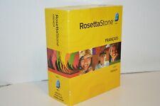 Rosetta Stone FRENCH Level 1 Version 3 Win/Mac CD-Rom +3CDs & Headset/Mic. NEW