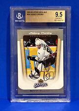 2005-06 Upper Deck MVP Sidney Crosby Rookie Card Graded BGS 9.5 Gem Mint Goat 🔥