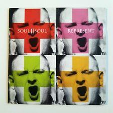 SOUL II SOUL : REPRESENT (REMIX) ♦ CD Single Promo ♦