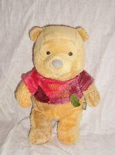 Peluche Plush Doudou Winnie l'ourson tee-shirt prune Disney Nicotoy (28cm)