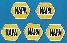 5 Lot Vintage NAPA Racing NASCAR Sponsor Hat Jacket Patches Michael Waltrip A